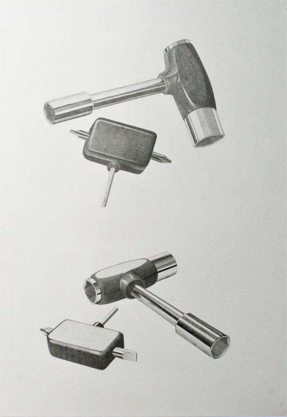 'Six pack (Skateboard tool)'